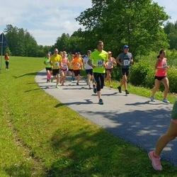 37. jooks ümber Pühajärve - Bruno Tammaru (131), Kristina Uibo (132), Rika Soopa (172), Ivar Lustverk (464)
