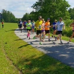 37. jooks ümber Pühajärve - Kristjan Kärner (106), Kristina Uibo (132), Lembit Künnapas (421)