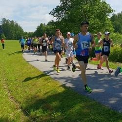 37. jooks ümber Pühajärve - Teddy Luik (462), Tarvo Jürimäe (701), Aivar Kiisler (704)