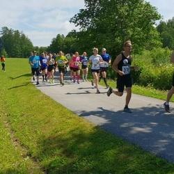 37. jooks ümber Pühajärve - Piia Maasel (228), Sven Ersling (310), Kristjan Lukk (463), Albina Maltis (468)