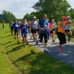 37. jooks ümber Pühajärve - Tauno Ojasaar (503), Aare Saliste (580), Margus Mäll (670), Piret Kuusmaa (742)