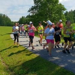 37. jooks ümber Pühajärve - Annika Liiv (450), Tuuli Mekk (475), Aili Münt (491), Maarja Žugova (669), Evgenia Tretimakova (690)