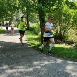 37. jooks ümber Pühajärve - Triin Preem (91), Aleksei Ronkel (92)