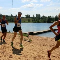 37. jooks ümber Pühajärve - Alari Kasemaa (68), Rain Raun (556), Adele Tamberg (604)
