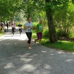 37. jooks ümber Pühajärve - Annika Liiv (450), Mare Liukanen (456)