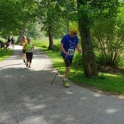 37. jooks ümber Pühajärve - Aivo Kruusimägi (258), Anna Kuznetsova (411)