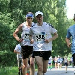 37. jooks ümber Pühajärve - Ando Hermsalu (334), Andres Pae (754)