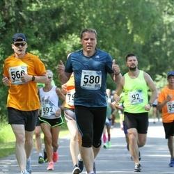 37. jooks ümber Pühajärve - Risto Reinumägi (560), Aare Saliste (580)