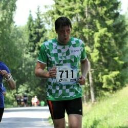 37. jooks ümber Pühajärve - Tatjana Tsurkina (632), Andre Krull (711)