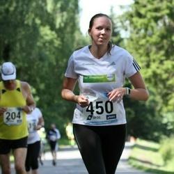 37. jooks ümber Pühajärve - Annika Liiv (450)