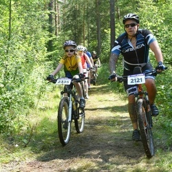 16. Raplamaa Frank Kutter Rattamaraton - Meelis Kaldma (2121), Annimari Härmat (2335)