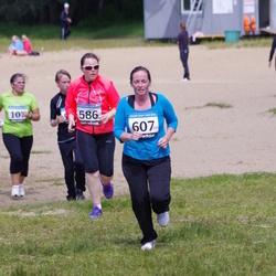 42. ümber Harku järve jooks - Marina Rudyk (586), Anastassia Safonova (607)