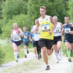 42. ümber Harku järve jooks - Vladimir Vaher (8), Alar Savastver (18), Hanno Kindel (58), Janar Säkk (651)