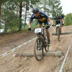 Husqvarna Eesti Olümpiakrossi karikasari V etapp - Viljar Saare (14), Alari Kannel (59)