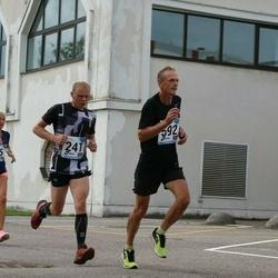 46. jooks ümber Ülemiste järve - Piret Tikva (36), Madis Reinumägi (241), Heiki Randmäe (592)