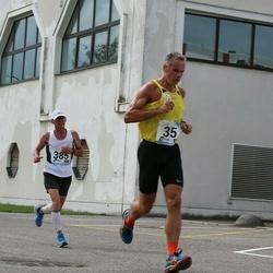 46. jooks ümber Ülemiste järve - Alari Kasemaa (35), Eik Eller (385)