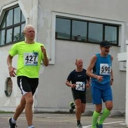 46. jooks ümber Ülemiste järve - Andres Kiisler (184), Priit Kallakas (427), Aare Randma (590)