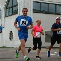 46. jooks ümber Ülemiste järve - Heigo Mansberg (98), Marek Ross (174), Aare Leisson (491), Elina Leisson (492)