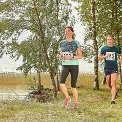 46. jooks ümber Ülemiste järve - Armin Soosalu (166), Karmen Laikre (181)