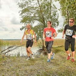 46. jooks ümber Ülemiste järve - Kuno Kipper (119), Tarmo Leek (143), Kristiina Kindel (441)