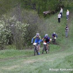 Rõuge Rattamaraton 2009 - Allan Oras (1), Caspar Austa (3)
