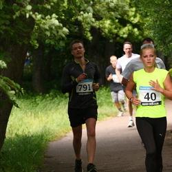 42. ümber Harku järve jooks - Katrena Tenno (40), Armin Soosalu (791)