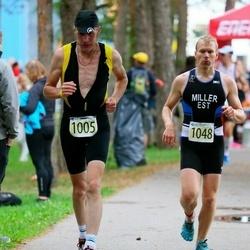 Triathlon Estonia - Alexander Fedotenkov (1005), Argo Miller (1048)