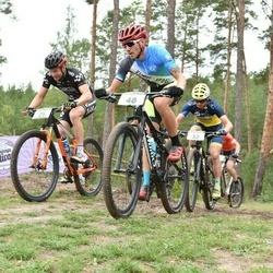 19. Jõulumäe Rattamaraton - Kaspar Neemesto (25), Magnus Krusemann (32), Aali Lill (48)