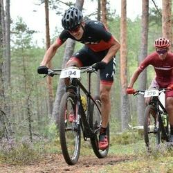 19. Jõulumäe Rattamaraton - Oskars MuižNieks (276), Ivars Prokofjevs (394)