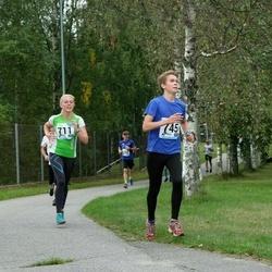 46. jooks ümber Ülemiste järve - Aljona Ystmark (711), Artur Raik (745)