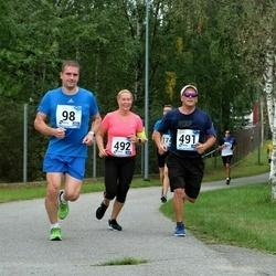 46. jooks ümber Ülemiste järve - Heigo Mansberg (98), Aare Leisson (491), Elina Leisson (492)