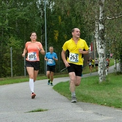 46. jooks ümber Ülemiste järve - Villu Uibo (263), Karina Jaunmuktane (405), Ago Võhmar (710)
