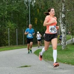 46. jooks ümber Ülemiste järve - Karina Jaunmuktane (405), Ago Võhmar (710)
