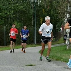 46. jooks ümber Ülemiste järve - Ivo Hindreus (96), Berit Rohtjärv (204), Enn Pärtma (581), Beat Freihofer (757)