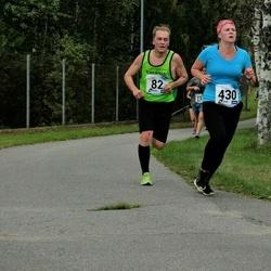 46. jooks ümber Ülemiste järve - Juhan Telling (82), Anita Karnit (430)