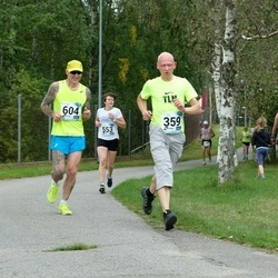 46. jooks ümber Ülemiste järve - Risto Agu (359), Anna Ovtsarenko (553), Leho Rennit (604)