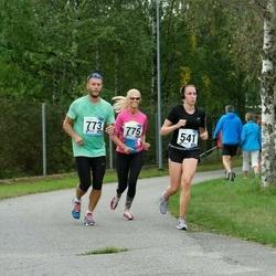 46. jooks ümber Ülemiste järve - Anna Naumova (541), Jaanus Paju (773), Kristiina Murula (775)