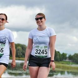 Jüri Jaansoni Kahe Silla jooks - Birgit Padur (3245), Marit Padur (3246)