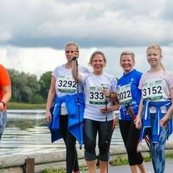 Jüri Jaansoni Kahe Silla jooks - Astrid Bachmann (3022), Tiina Kütt (3152), Kirke Rahnel (3292), Anneli Sitska (3337)