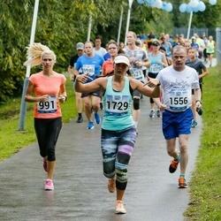 Jüri Jaansoni Kahe Silla jooks - Signe Heindla (991), Veljo Uueni (1556), Annika Mander (1729)