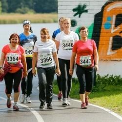 Jüri Jaansoni Kahe Silla jooks - Külli Talts (3364), Anneli Talts (3366), Anneli Priinits (3447)