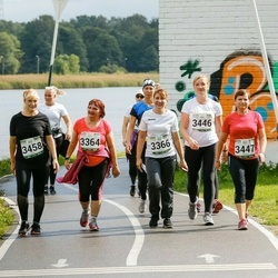 Jüri Jaansoni Kahe Silla jooks - Külli Talts (3364), Anneli Talts (3366), Anneli Priinits (3447), Liivi Künnapas (3458)