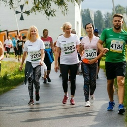 Jüri Jaansoni Kahe Silla jooks - Imbi Kadajane (3097), Annika Merelaid (3209), Alla Reiland (3305), Imbi Valgre (3407)