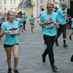 Nike Noortejooks/ We Run Tallinn - Jette Viik (202), Ander Altjõe (793)