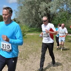 42. ümber Harku järve jooks - Rene Nurmetalu (488), Aavo Halling (773), Marko Sikk (810)