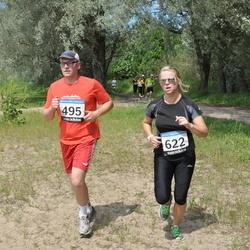 42. ümber Harku järve jooks - Rainer Orav (495), Anna-Maria Sepp (622)