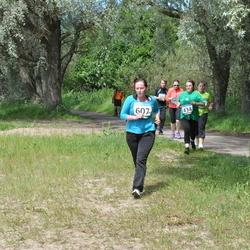 42. ümber Harku järve jooks - Este Maidle (434), Anastassia Safonova (607)