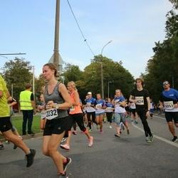 Tallinna Maratoni Sügisjooks 10 km - Ruta Seglicka (2232), Benno Roobas (5424), Siim Söödor (6051)