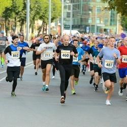 Tallinna Maratoni Sügisjooks 10 km - Risto Härmatis (213), Andi Piliste (460), Mark Sovtsa (487)