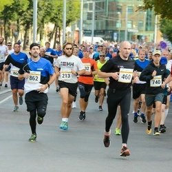 Tallinna Maratoni Sügisjooks 10 km - Risto Härmatis (213), Andi Piliste (460), Logan Palmer (862)